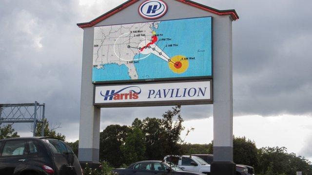 Watchfire Signs' display highlights hurricane info in North Carolina
