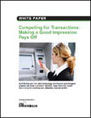 Competing for Transactions: Making a Good Impression Pays Off