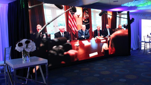 White House Correspondents' Dinner selected APG Rentals for video wall deployment