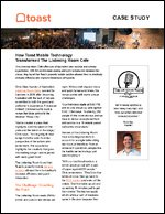 How Toast Mobile Technology Transformed The Listening Room Cafe