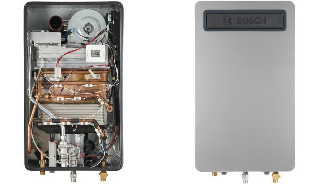 Bosch Launches New Line of Gas Condensing Tankless Water Heaters