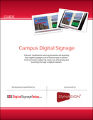 Campus Digital Signage