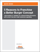 5 Reasons to Franchise a Better Burger Concept