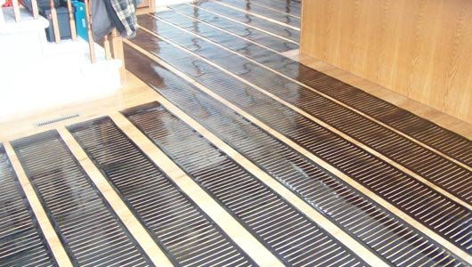 Step Residential Radiant Heating Systems Heated Floors