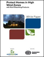 Protect Homes in High Wind Zones with Roof Sheathing Products