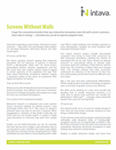Screens Without Walls