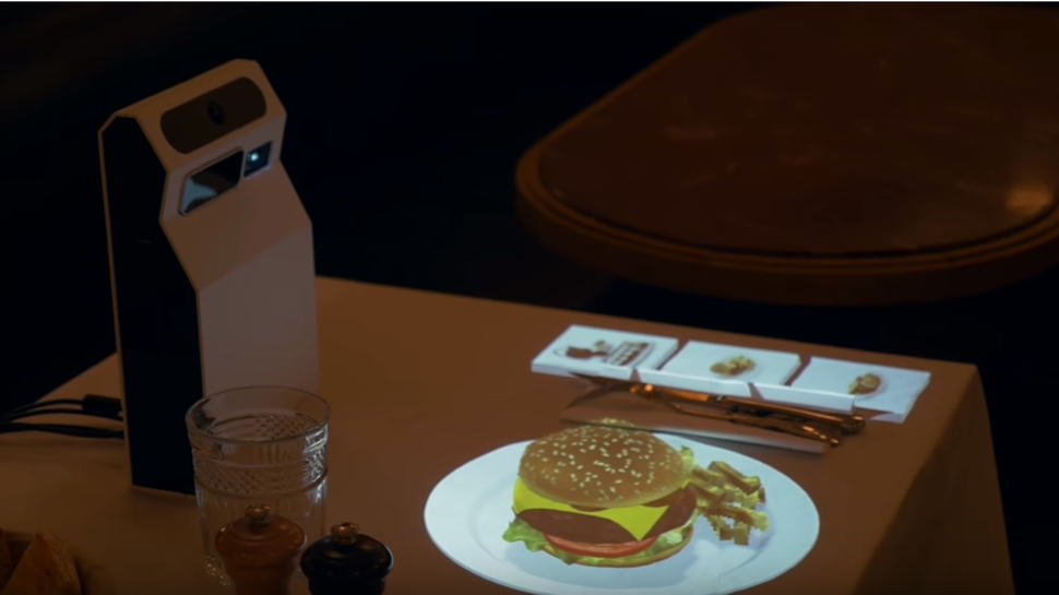 AR displays deliver 'restaurants of the future'