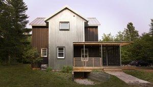 The Door County Barnhouse Galvalume And Corn Crib Siding
