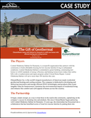 The Gift of Geothermal: ClimateMaster Brings Efficient Heating and Cooling to Habitat for Humanity Homes