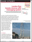 London Eye boosts revenue with messaging system