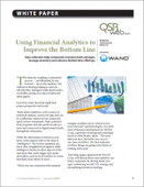 Using Financial Analytics to Improve the Bottom Line