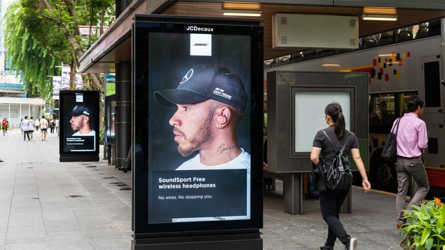 JCDecaux Singapore unveils bus shelter advertising network