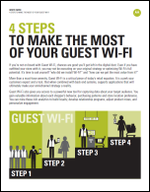 4 Steps to Make the Most of your Guest Mobile Wi-Fi