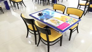 Ukrainian company launches waterproof digital touchscreen table