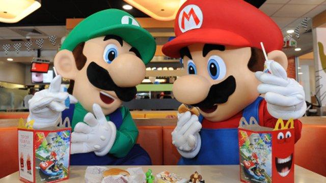McDonald's launches Mario Bros.-themed Happy Meals