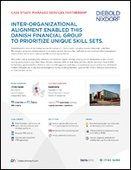 Inter-Organizational Alignment Enabled this Danish Financial Group to Prioritize Unique Skill Sets
