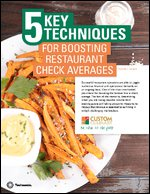 5 Key Techniques for Boosting Restaurant Check Averages