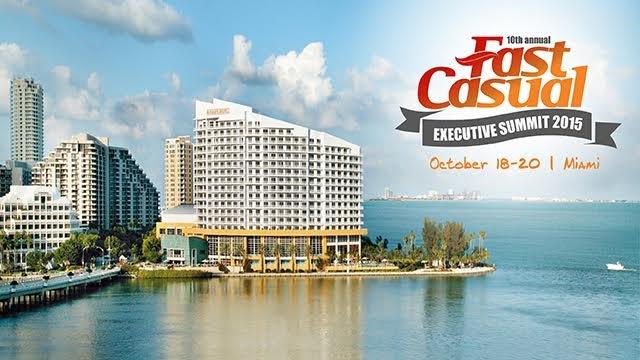 Fast Casual Exec Summit to take Miami