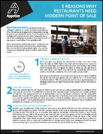 5 Reasons Why Restaurants Need Modern Point of Sale
