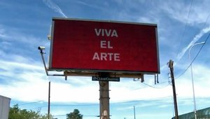 'Green Chile From The Ghetto': Digital billboard art project sparks controversy