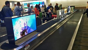 Digital signage comes in for a landing at Palm Springs Int'l Airport