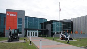Bobcat engineering center an environmental LEED-er