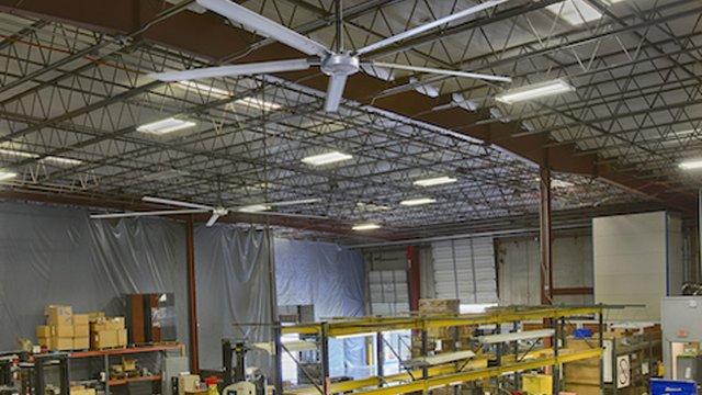 Fans proving valuable complement to efficient building ventilation