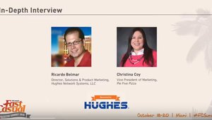 2015 Fast Casual Summit - Interview with Christina Coy Pie Five Pizza