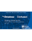 Webinar: Thinking Outside the Box with Digital Signage