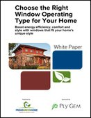 Choose the Right Window Operating Type for Your Home