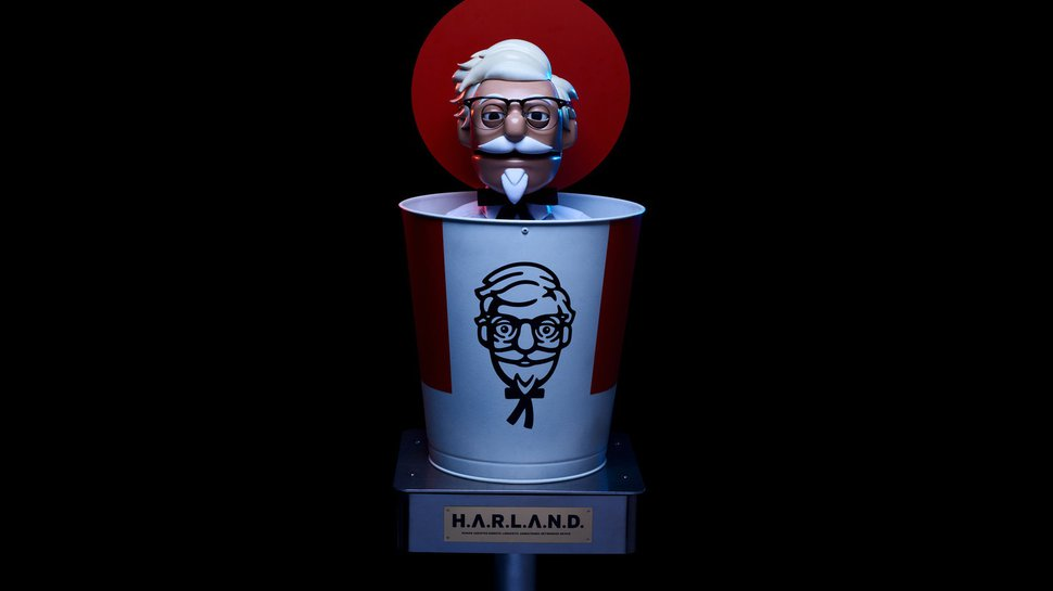 Diners dump buckets full of criticism on KFC's 'robotic' colonel