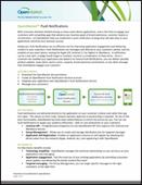OpenMarket™ Push Notifications