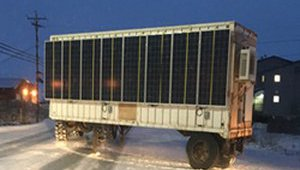 Solar Powers Delivers Hot Water North of the Arctic Circle