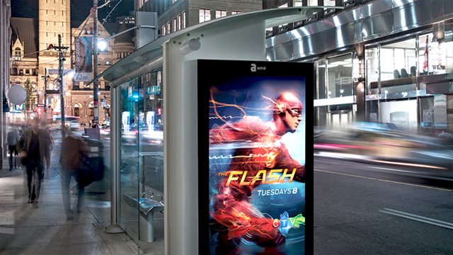 Get On The Bus Or Train Or Plane With Digital Signage