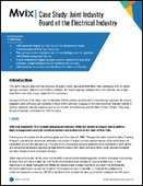 Case Study: Joint Industry Board of the Electrical Industry