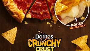 Pizza Hut Australia creates crunchy Doritos crust