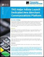 TNS Helps Adista Launch Dedicated Merchant Communications Platform | MPLS | Networking | Retail