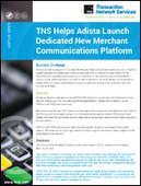 TNS Helps Adista Launch Dedicated Merchant Communications Platform | MPLS | Networking | Retail