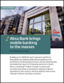 Absa Bank brings mobile banking to the masses