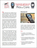 Choosing the Right Barcode Data Collection Device: Pros and Cons