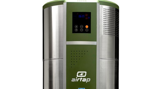 heat pump water heater ready for large households in cold climates