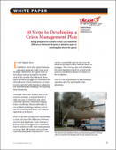 10 Steps to Developing a Crisis Management Plan