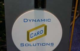 Dynamic Card Solutions, close-up.