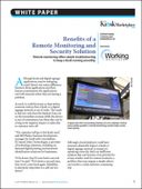 Benefits of a Remote Monitoring and Security Solution
