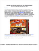 BrightSign Solid-State HD Controllers Drive OSM Solutions Affordable, All-Inclusive Menu Board Solutions for QSRs