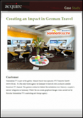 Creating an Impact in German Travel