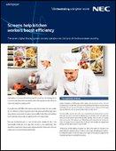 Screens help kitchen workers boost efficiency