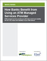 How Banks Benefit from Using an ATM Managed Services Provider