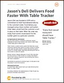 Jason's Deli Table Tracker Case Study