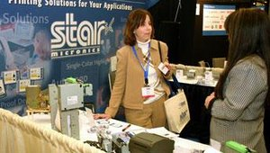 Star Micronics America demonstrated several of its kiosk printers, which have been used for solutions in airline travel, gaming and ATMs.